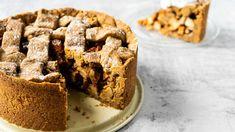 Oer-Hollandse appeltaart (vegan, low-carb en glutenvrij) - The Veggie Reporter Clean Recipes, Low Carb Recipes, Go For It, Vegan Baking, Cake Cookies, Clean Eating, Snacks, Healthy, Sweet