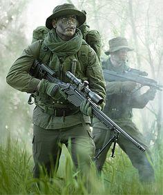 Sniper Rifles : Military and Law Enforcement : STEYR MANNLICHER