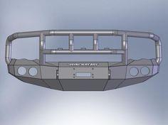2003-2005 Dodge Ram 2500/3500 TII Guard Winch Bumper