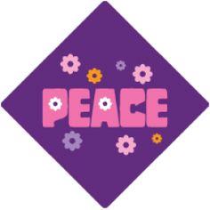 Peace Tassel Topper - Option