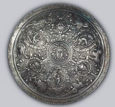 Pageant Shield Place of creation: France Author (Master) : After the design by Etienne Delon Date: Middle - second half of the 16th century School: Fontainbleau Material: steel