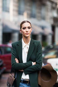 hunter green menswear #streetstyle #fashion