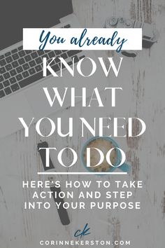You likely already know what your passion is and what business or path will help you find alignment, but if you need a little help finding more clarity, then today's blog post will give you just that and push you to step into your purpose. You know what you need to do, now take action and step onto your path. CorinneKerston.com #mindset #business #path #purpose #findyourpurpose #womeninbusiness #alignment Well And Good, Building A Business, Authentic Self, Deep Down, Confidence Building, Take Action, In High School, Change The World, Mindset