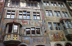 fassadenmalerei österreich außergewöhnlich - Google-Suche
