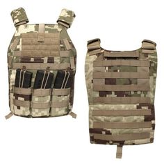 LBX Tactical Project Honor Camo Speed Draw Plate Carrier