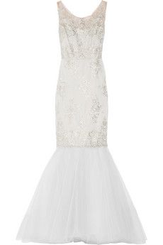 Notte by Marchesa Embellished lace and tulle gown | THE OUTNET