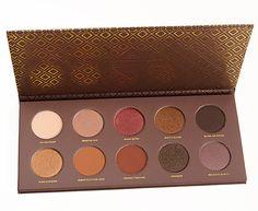 Zoeva Cocoa Blend Eyeshadow Palette - paraben free