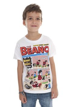 Dennis Beano T-Shirt by Fabric Flavours