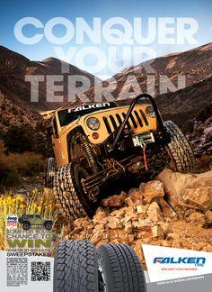 JP Magazine Ad, Conquer Your Terrain, WildPeak