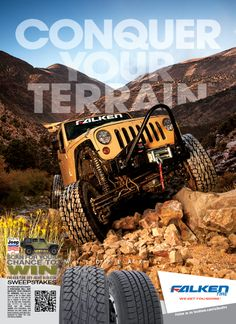 JP Magazine Ad, Conquer Your Terrain, WildPeak