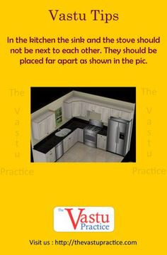 Vastu For Kitchen - The kitchen is best located in the South-East corner of the house called Aagneya. Vastu Guide for Kitchen, Vastu Importance in Kitchen. Kitchen Vastu, Kitchen Sink Diy, Kitchen Sink Window, Kitchen Stove, New Kitchen Cabinets, Kitchen Flooring, Kitchen Decor, Kitchen Design, Kitchen Hoods
