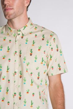 Cactus button up!