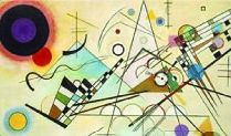 Composition VIII ~ Wassily Kandinsky, oil on canvas, 55 x 79 Solomon R. Guggenheim Museum, New York. The first of more than 150 works by the artist to enter the collection. Kandinsky regarded 'Composition as the high point of his postwar achievement. Abstract Expressionism, Abstract Art, Abstract Designs, Abstract Landscape, Abstract Posters, Landscape Design, Kandinsky Art, Kandinsky Prints, Art Curriculum