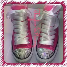 finest selection 7daa1 7c727 Women s Bling Converse for Brides, Bridesmaids, SPARKLY SNEAKERS