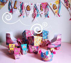 MAR DE PAPEL: El cumple 7 de Laia: Soy Luna