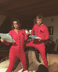 """""""Tis the season to run lines in matching onesies  @abcquantico"""""""