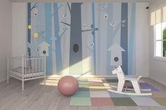 Papel Pintado habitación infantil