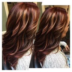 Natural Brown to Rich Red Transformation
