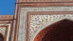 Taj Mahal Gate Detail