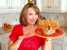 Colleen's Low Fat Cheese Ball Turkey