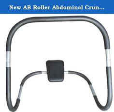 """New AB Roller Abdominal Crunch Exerciser Equipment Fitness Machine J08. This ab roller is a simple and effective exercise equipment for people who are interested in developing that """"6 pack abs"""" look. Using the ab roller for stability, this simple exercise can do wonders to slim the midsection and tighten the abdominal area. Ab exercises are some of the most popular exercises for both novice and elite athletes. However to get a flat belly and defined abs takes more than just crunches. You..."""