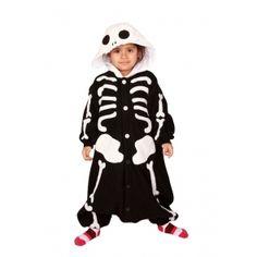Robe da Cartoon-Halloween-KIGURUMI PIGIAMONE BAMBINO SCHELETRO-20