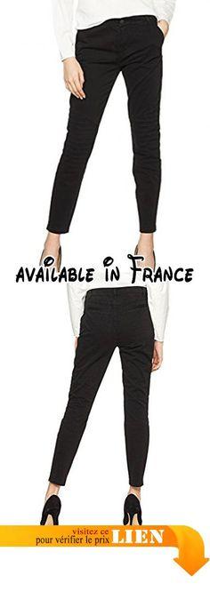 B0758GZ2J4 : BOSS Orange Sabaiky-d Pantalon Femme Noir (Black 1) 36.
