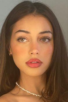 Makeup Goals, Makeup Inspo, Makeup Inspiration, Skin Makeup, Beauty Makeup, Hair Beauty, Emo Makeup, Brunette Beauty, Insta Makeup