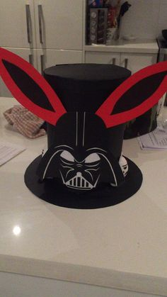 Darth Vader Star Wars Easter hat/bonnet for Easter Parade.