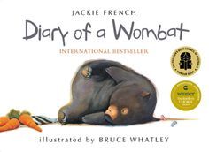 One of the top 10 best Australian children's picture books. Check me out ~ http://encore.sutherlandshire.nsw.gov.au/iii/encore/record/C__Rb1012205__SDiary+of+a+wombat__P0,1__Orightresult__X5?lang=eng=cobalt