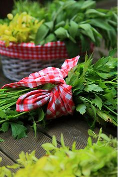 Food always taste better with fresh herbs from the garden