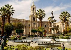 Arequipa's Historical City Center