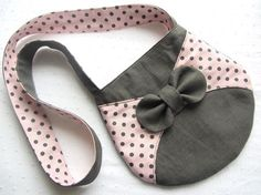 Cute bow purse for girls