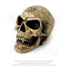 Alchemy Gothic The Vault Omega Vampire Occult Skull  #gothicrock #gothicclothing #witchgirl #psychobillygirl #vampiregirl #metalgirl #kawaii #cybergirl #rave #scenegirl