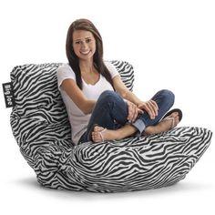 Big Joe Roma Chair, Zebra