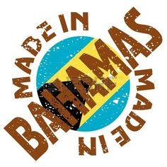 la etiqueta Made in vector de las Bahamas