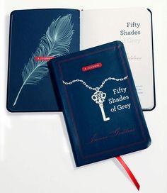 Cinquenta tons de cinza: Deusa Interior (Um diário) inclui um prefácio de E. L. James, com trechos dos seus livros, com dicas para escrever e trilha sonora. As páginas são divididas em seções inspiradas em seus protagonistas, Anastasia Steele e Christian Grey.