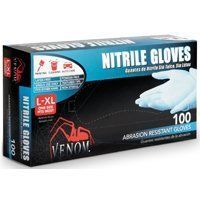 Medline Venom Powder-Free Nitrile Multi-Purpose Disposable Gloves, One-Size, 100 Count by Medline. $14.35. Great for painting, cleaning, and auto care. Latex free. Large-X-large one size fits most. Venom abrasion resistant single use nitrile gloves. Great for painting, cleaning, and auto care. Large-x-large one size fits most. Latex free.