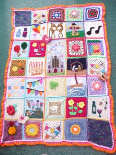 'SIBOL' - Sunshine International Blankets of Love Love Crochet, Crochet Granny, Crochet Motif, Crochet For Kids, Beautiful Crochet, Crochet Baby, Crochet Patterns, Crochet Capas, Granny Square Projects