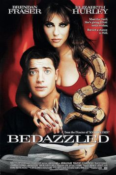 "Brendan Fraser and Elizabeth Hurley in the remake of ""Bedazzled""."