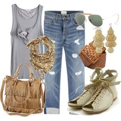 CRUISE OUTFIT with different shoes ooh i love ittt!!!:D