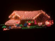15 Colorful and Outrageously-Themed Outdoor Christmas Lights | Entertaining - DIY Party Ideas, Recipes, Wedding & Baby Showers | DIY