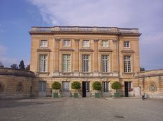 Petit Trianon specially built for his mistress Madame de Pompadour by King Louis XV at Versailles