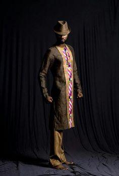 Brand: Kinabuti Designer: Caterina Bortolussi Vlisco Carnival in. African Men Fashion, Africa Fashion, Ethnic Fashion, African Attire, African Wear, African Dress, African Style, Kitenge, Wedding Suit Styles