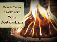 How to Eat to Increase Your Metabolism. Says author: All the nitty-gritty details on how I increased my metabolism and got rid of my cold hands and feet for good!