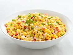 Recipe for Confetti Creamed Corn - A creamy side dish that's ready in 15 minutes.