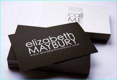 15 Unique Minimalistic Business Card Design
