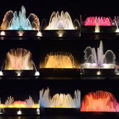 Magic Fountains of Montjuic
