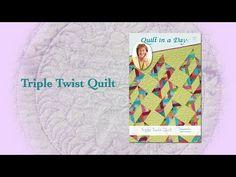 "Block Party December 2016 ""Triple Twist Quilt"" - YouTube"