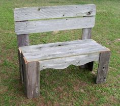 Rustic Wood bench by Trueconnection Farmhouse door TRUECONNECTION, $300.00